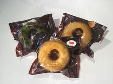 焼ドーナツ   (抹茶・リンゴ・メープル)